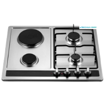 4 Burners New Design Gas And Electric Hob