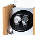 luxury watch winder safe case