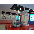 Motorized ceiling type double arms electric medical pendant