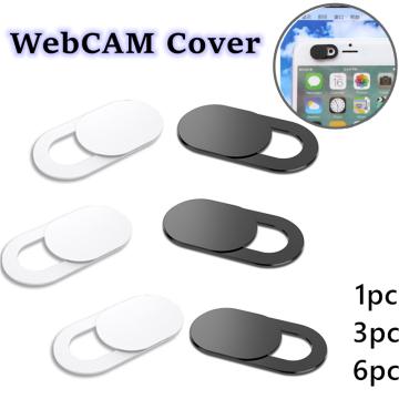 Webcam Cover For laptops iPad Macbook PC Tablet Shutter Magnet Slider mobile phone lens webcam Cover lenses Privacy Sticker