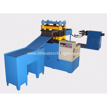 Automatic Fins Forming Machine