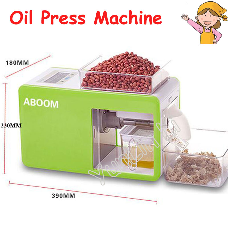 Automatic Oil Press Machine Small Steel Commercial Electric Oil Making Machine for Olive,Soybean Household Oil Maker YD-CD-0103
