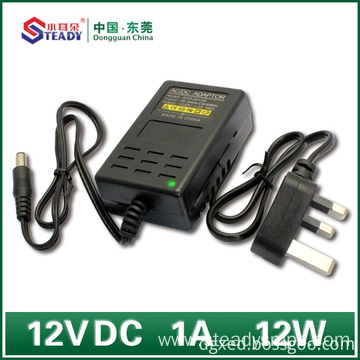 Desktop Type Power Adapter 12VDC 1A