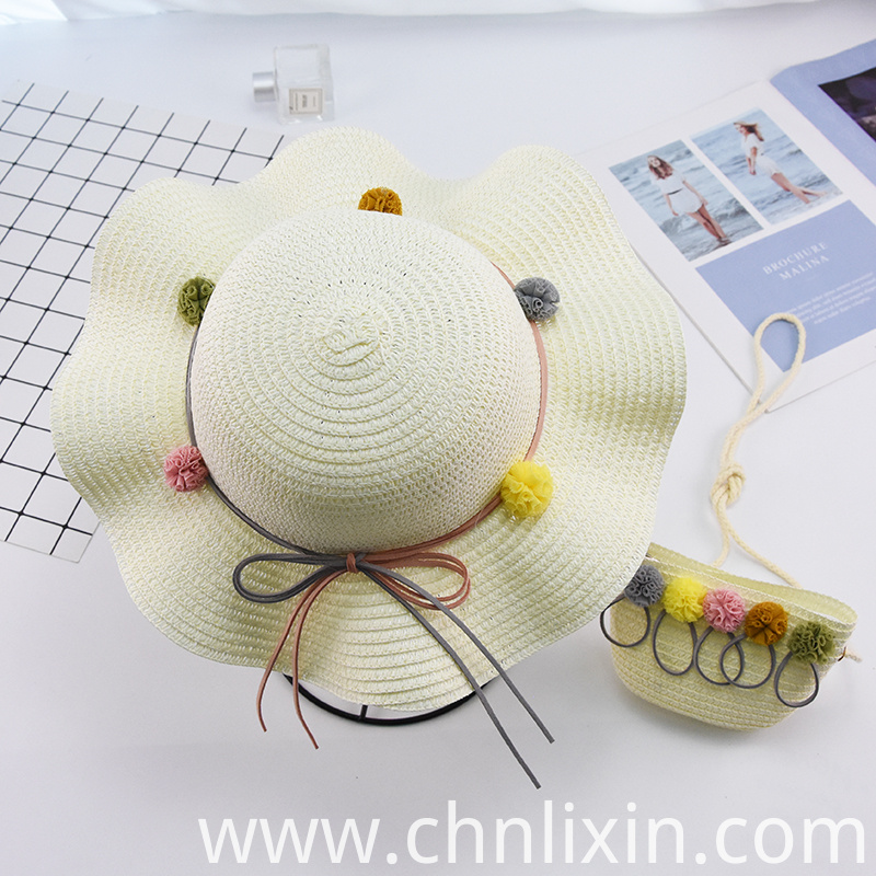 Children Summer Straw Hat Caps