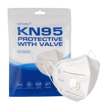 KN95 Mask With Exhalation Valve FDA GB2626-2006