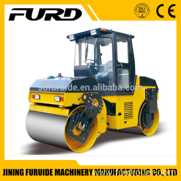 Hot sale 6 ton double drum asphalt roller with top quality (FYL-206)