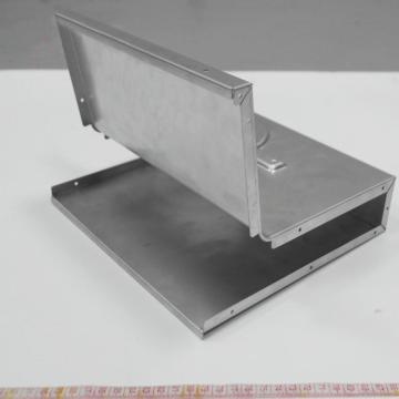 High precision custom steel fabrication sheet metal bending