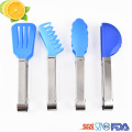 Mini Kitchen BBQ Food Tongs Nylon Salad Serving Set Cooking Tongs