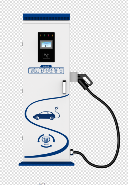 40Kw DC EV charger outdoor production
