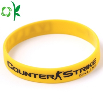 Personalized Custom Silicone Bracelet Has Several Color