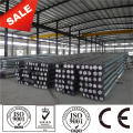 Hot dip galvanized 38KV power pole