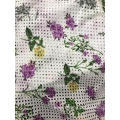 Porous And Digital Printing Cotton Embroider Fabric