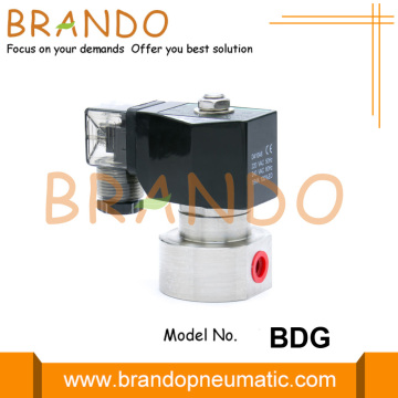 High Pressure Stainless Steel Solenoid Valve 100 Bar