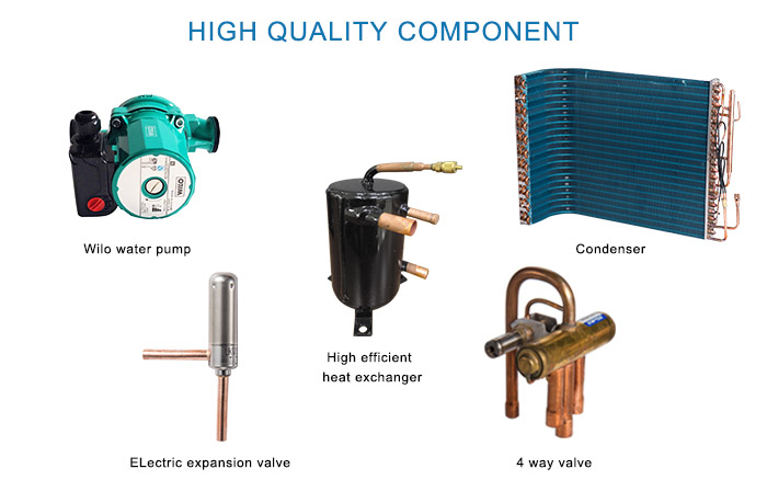 Engineering Pool Heat Pump