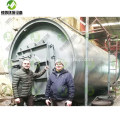 Tyre Recycling into Fuel and Oil Plant