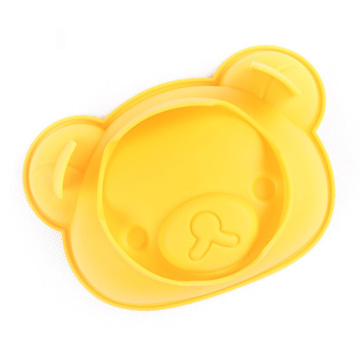 Yellow Bear Head Silicone Cake Mold