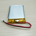 Rechargeable 422537 400mAh 3.7v lipo battery for walkman