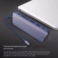 12 in 1 USB C HUB, to Dual HDMI + VGA + Network Port + 3XUSB3.0 Dual C Docking Station for Laptop PC
