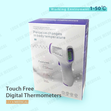 Touch Free Infrared Forehead Thermometer Temperature Gun CE