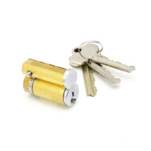 Removable Large Format Interchangeable Brass Lock Cylinder