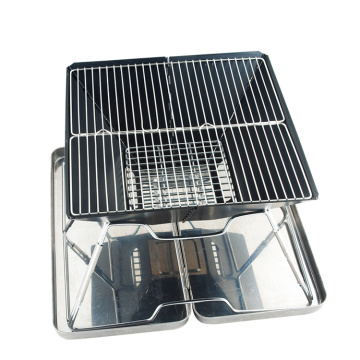 charcoal barbecue folding oven grill stove