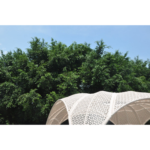 UV-Resistant Synthetic PE Wicker Garden Gazobo