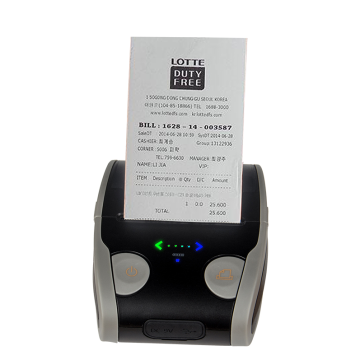 58 mm Handheld Mobile Bluetooth thermal label printer
