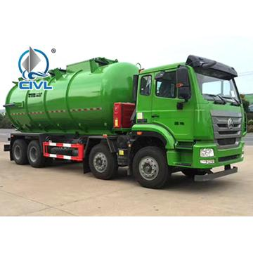 6X4 20000 Liters Vacuum Sewage Suction Truck