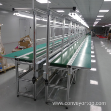 Belt Conveyor Line for Assembly Line Systems