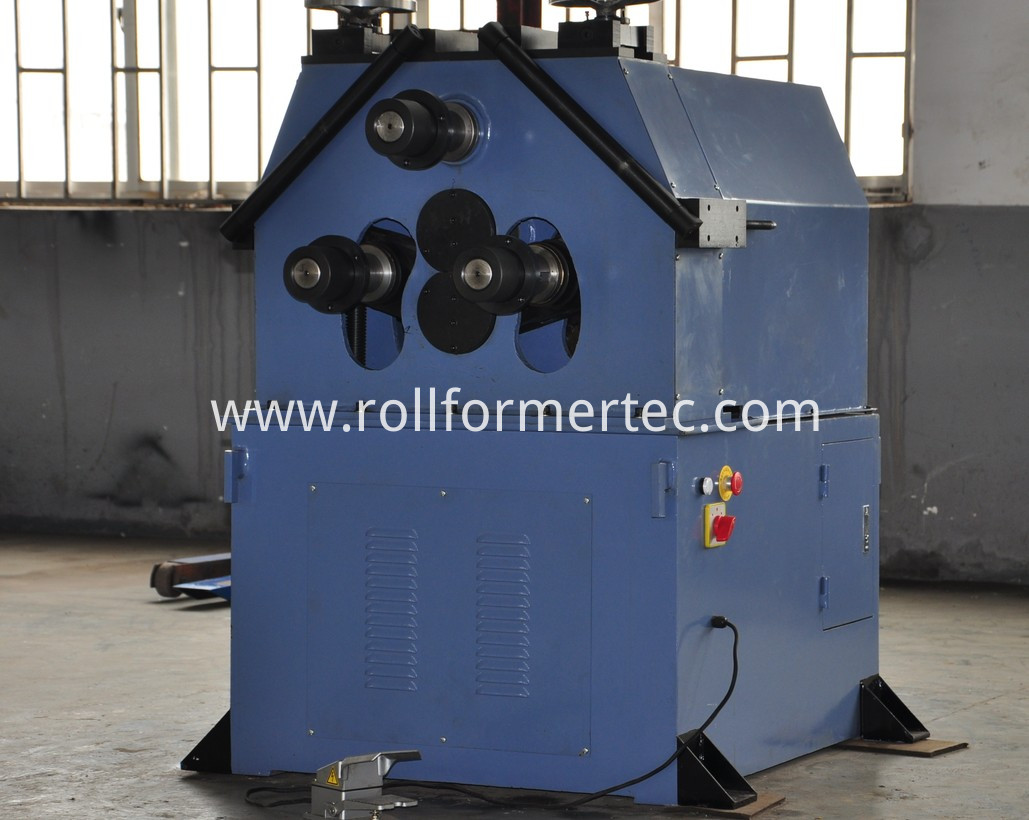 3 roller angle bending machine