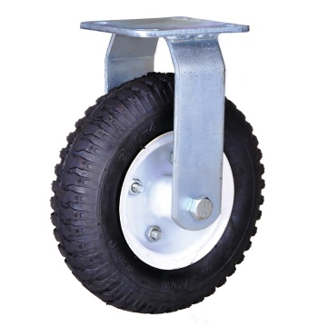8 inch heavy duty pneumatic wheel casters