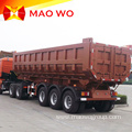 Hot-sale 3 Axle 40cbm Dump Tipper Semi Trailer