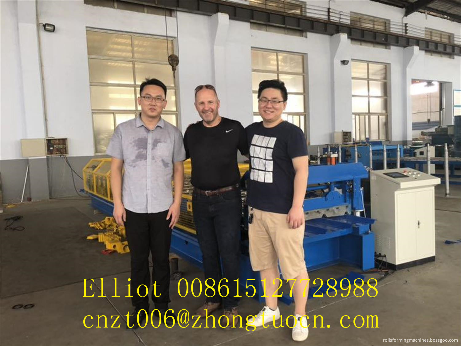 roofing sheet machine (2)