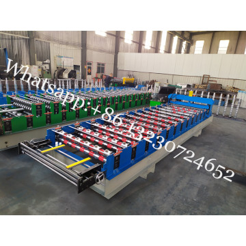 PPGI Tile Roofing Sheet Cold Forming Machine