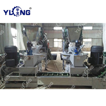Shandong wood pellet production line for sale