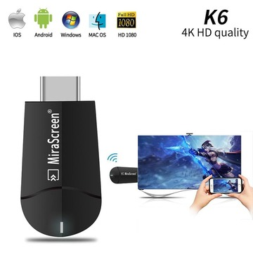 MiraScreen G5 4K HD Wireless WiFi Display HDMI-compatible Dongle Receiver 1080P HD TV Stick Miracast Airplay Mirroring