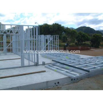 Low Cost High Prefab Rate Steel Frame Houses