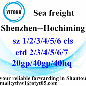 Shantou Sea freight services to Hochiming