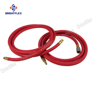 Smooth oil resistan red air line compressor hose