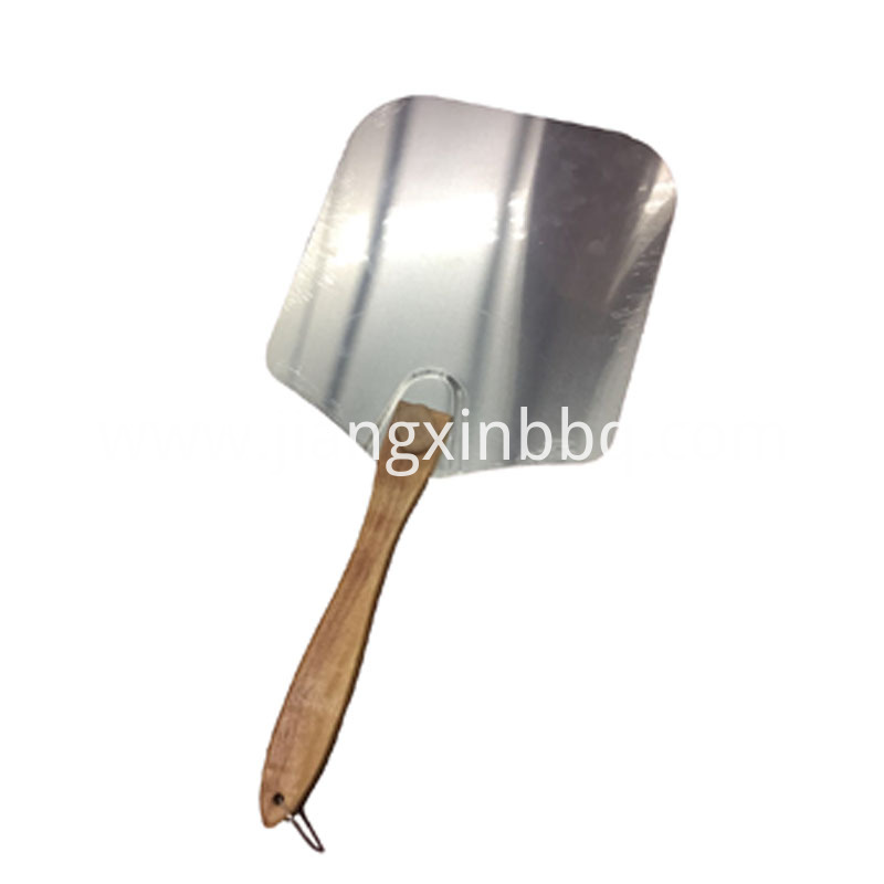 Foldable Pizza Peel With Wooden Handle Overall View