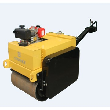 550KG Earth Soil Walk behind Roller Compactor