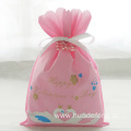 Pink Non Woven Valentine's Day Swan Gift Bag