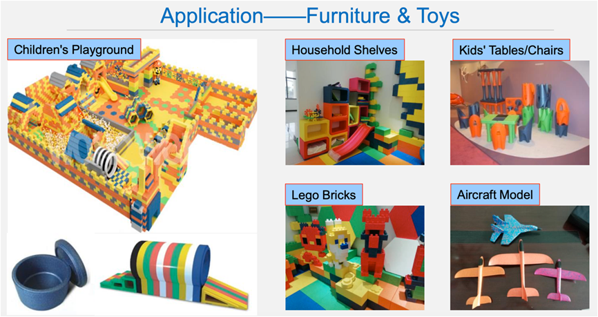 application furniture & toys