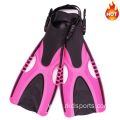 Adjustable swimming training free diving fins for adult
