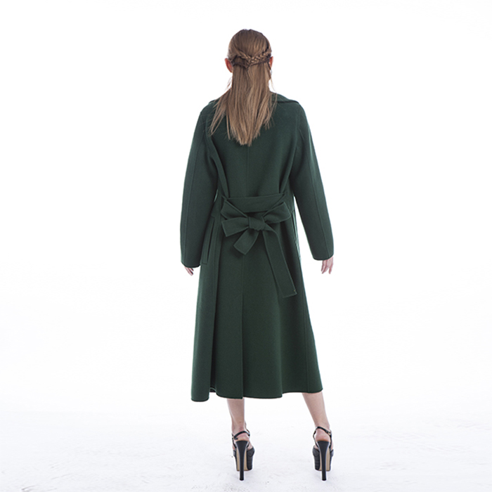 New Styles Green Winter Coat