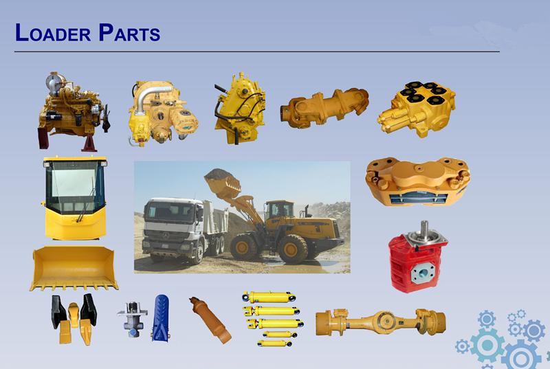 loader spare parts