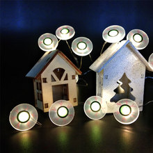 Holoween Led Fairy Light avec globe oculaire
