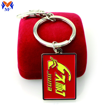 Wholesale metal hotel room keychain custom
