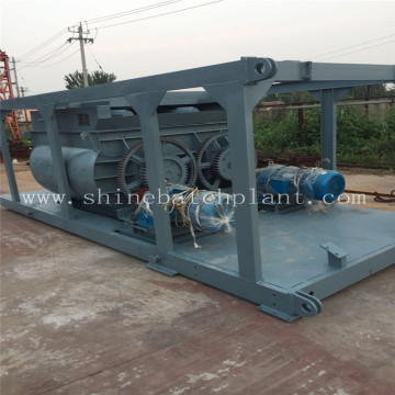 High Efficiency Mobile Concrete Plant