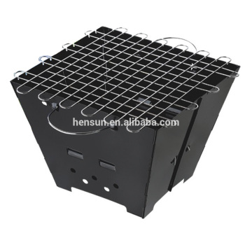 New Design Foldable Square Shape Outdoor BBQ Grill